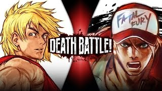 Ken VS Terry (Street Fighter VS King of Fighters) | DEATH BATTLE!