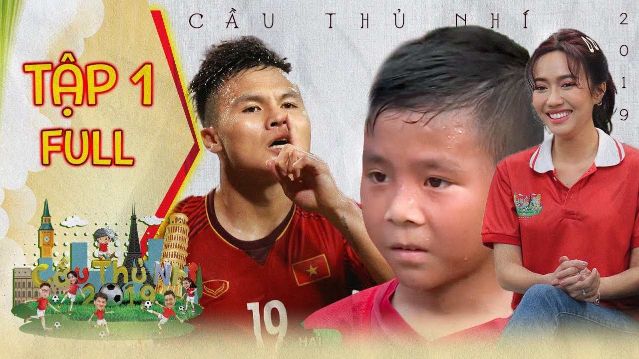Diệu Nhi thích thú trước phiên bản nhí của cầu thủ Quang Hải | Cầu Thủ Nhí 2019 | Tập 1 FULL