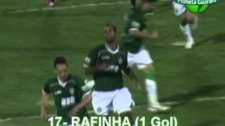 Guarani 2x1 Joinville - 22ª Rodada Campeonato Brasileiro Série B 2012