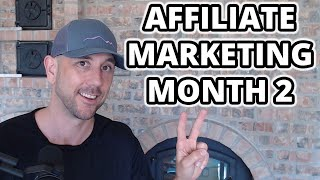 Month 2 Of The Affiliate Marketing Case Study  [Affiliate Marketing Website Research] -