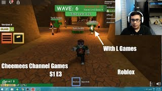 Cheemees Channel Games S1 E3 Roblox Zombie Rush Alternative