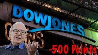 Why The DOW JONES is Falling | Dow Falls Over 500 Points