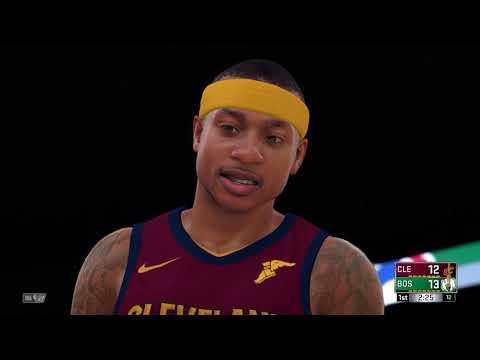 NBA 2K18 PS4 2017 2018 Season Cleveland Cavaliers vs Boston Celtics