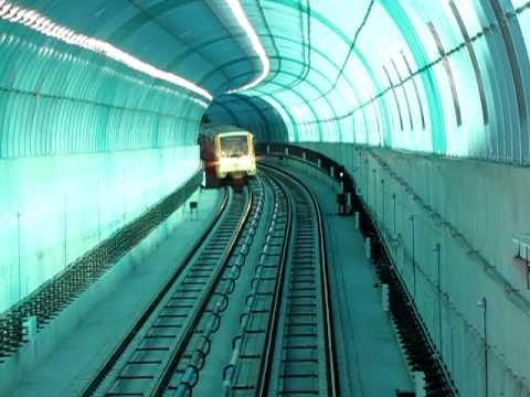 Sofia subway between Musagenitsa and G.M.Dimitrov station