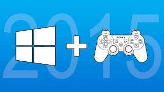 How to Connect PS3 Controller to Windows 10 or 8.1 PC - 2015 No Motionjoy
