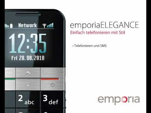 Schwerhörigen Handy Emporia ELEGANCE