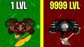 BRUTALMANIA.IO MAX LEVEL EVOLUTION! BRUTALMANIA.IO MAX LEVEL! ALL LEVELS!