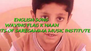 Waving flag K naan by Students of SaReGaMma Music Institute,Vimannagar,Pune,India.mp4