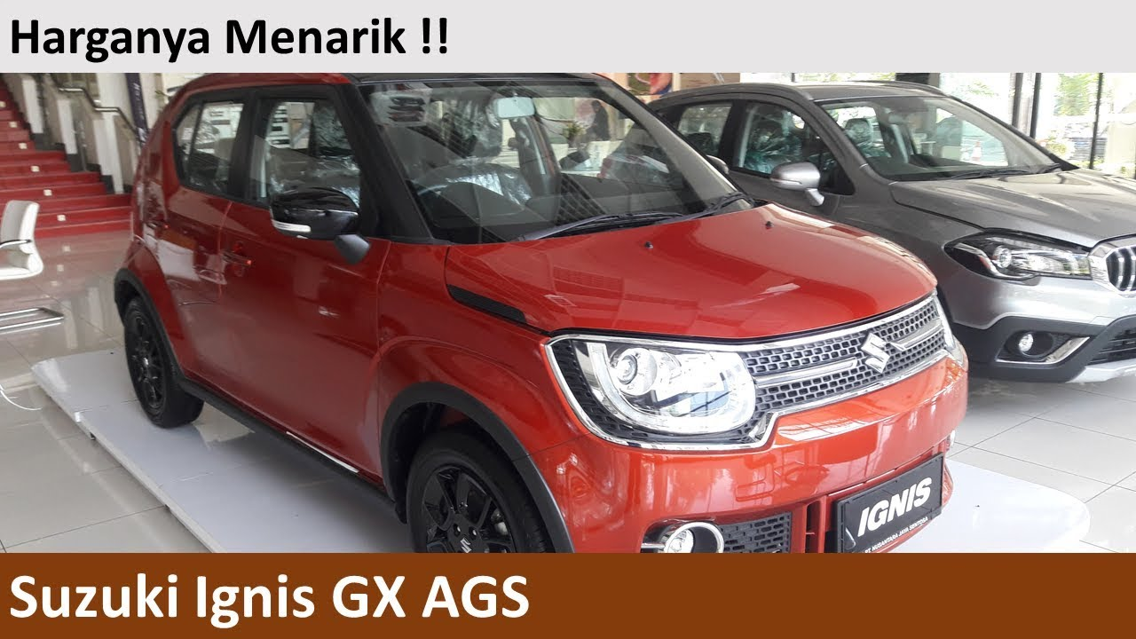 Suzuki Ignis Gx Ags Review Indonesia Youtube