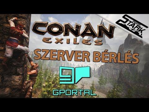 Conan Exiles - Szerver bérlés, készítés, beállítás - Stark