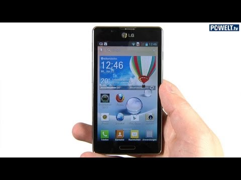 300-Euro-Smartphone: LG Optimus L7 II im PC-WELT-Test