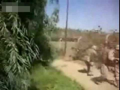 Iraq Raw Combat Footage Marine Ambush Zaidon