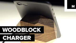 This Wooden Block will Charge Your Phone