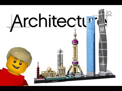 LEGO Architecture Shanghai (Set 21039) - LEGO Speed build