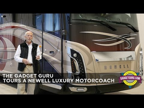 2017 Newell Coach Review,  Interior Walkthrough and Overview of Newell Coach