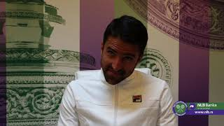 Wimbledon 2019. | Janko Tipsarević Posle Poraza od Kevina Andersona | SPORT KLUB Tenis