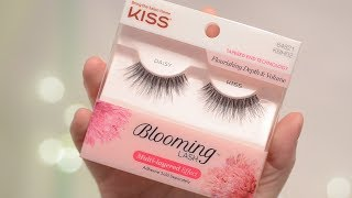 Kiss Blooming Lashes Daisy Try On & Review | CORRIE V