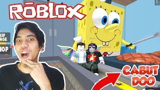 HOW TO ESCAPE FROM KRUSTY CRAB-ROBLOX INDONESIA