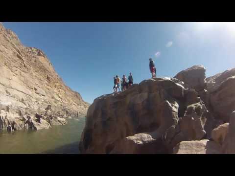 HCS Orange River - Cliff Jumping
