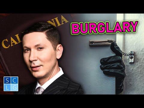 Penal Code 459 – Burglary