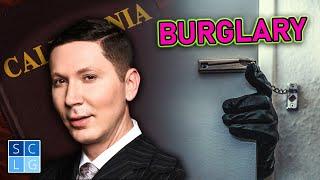 Penal Code 459 -- Burglary