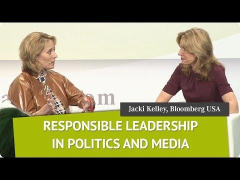 Responsible Leadership | Jacki Kelley, COO, Bloomberg, USA | Global Female Leaders 2017