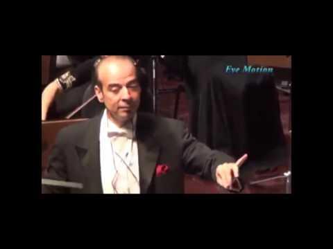 Omar Khairat and Nader Abbasi in Doha Opera House player Kadyet Am Ahmed