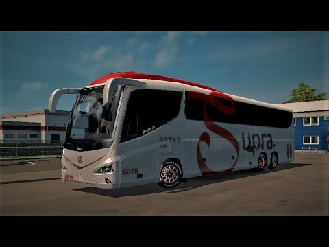 ets 2 irizar i8 bus mod test   youtube
