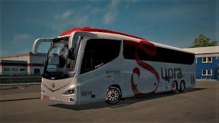 ETS 2 Irizar i8 Bus Mod Test