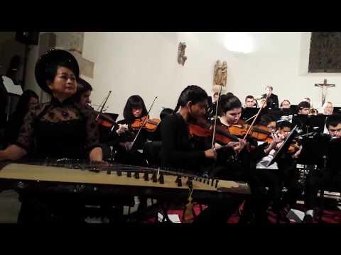 Hô Thuy Trang : Extrait Concerto dan tranh (Quang Hai)