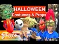 Drake tries on Halloween Costumes irl ~ Plus Decorations and Props and Masks | Theekholms
