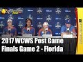 Florida - 2017 WCWS D1 NCAA Softball Championship Finals | Post Game 2