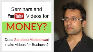 SHOCKED! see why Sandeep Maheshwari never take money for these Life Changing Seminars