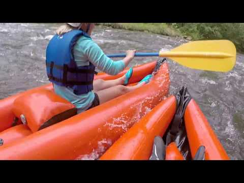 Saluda, NC Trip Whitewater Kayaking Sept 2015
