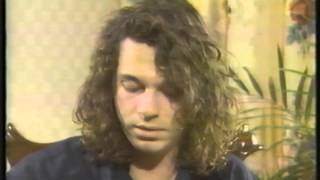 Michael Hutchence, INXS, Stu Jefferies Interview 1988
