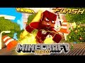 Em busca da casa de Herói - TENHO OS PODERES DO FLASH !! ( VELOCIDADE MÁXIMA ) - Minecraft #04