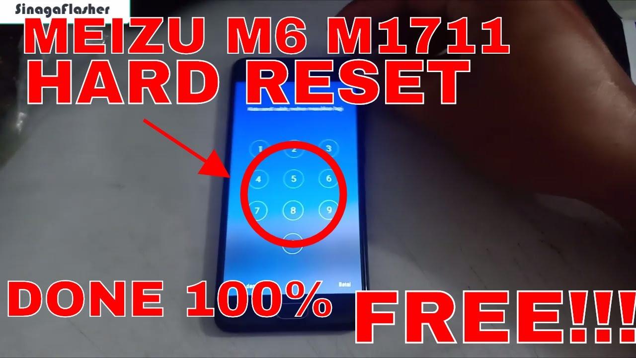 HARD RESET MEIZU M6 M1711 WITH FLASHTOOL DONE 100% FREE