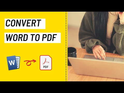 Convert Word To PDF Online For Free - DOC To PDF