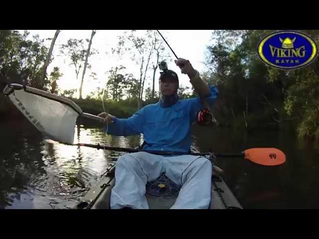 Viking Kayaks, Fly Fishing for Bass