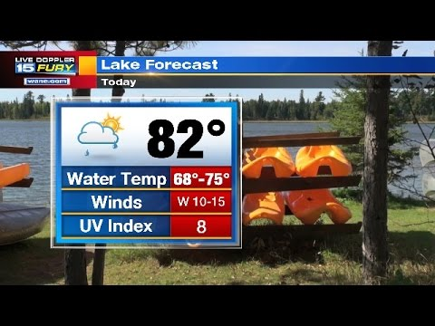 Fathers Day Morning Forecast Update