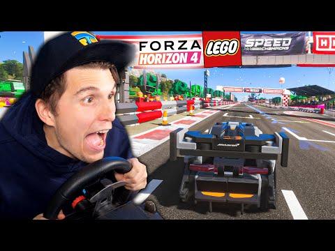 Mein erstes RENNEN in der LEGO WELT! | Forza Horizon 4