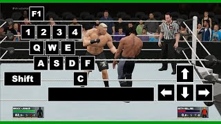 WWE 2K17 PC Controls[ ]Keyboard Controls[ ]9492Database