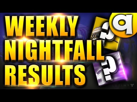 destiny weekly nightfall matchmaking