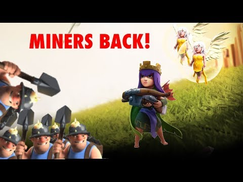 Queen Walk Mass Miners - TH10 Essential Strategy
