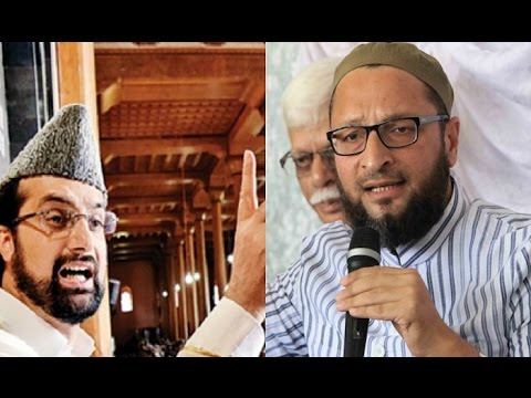 Owaisi Met Hurriyat Leader Mirwaiz Who Refused To Talk About Kashmir