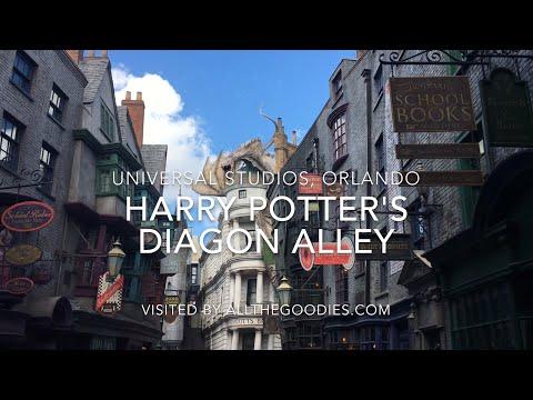 Harry Potter's Diagon Alley 4K, Universal Studios Orlando   Allthegoodies.com