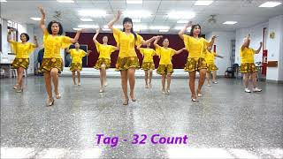 Hold Me Before You Leave 擁抱你離去 - Line Dance (Tina Chen & Juilin Chen)