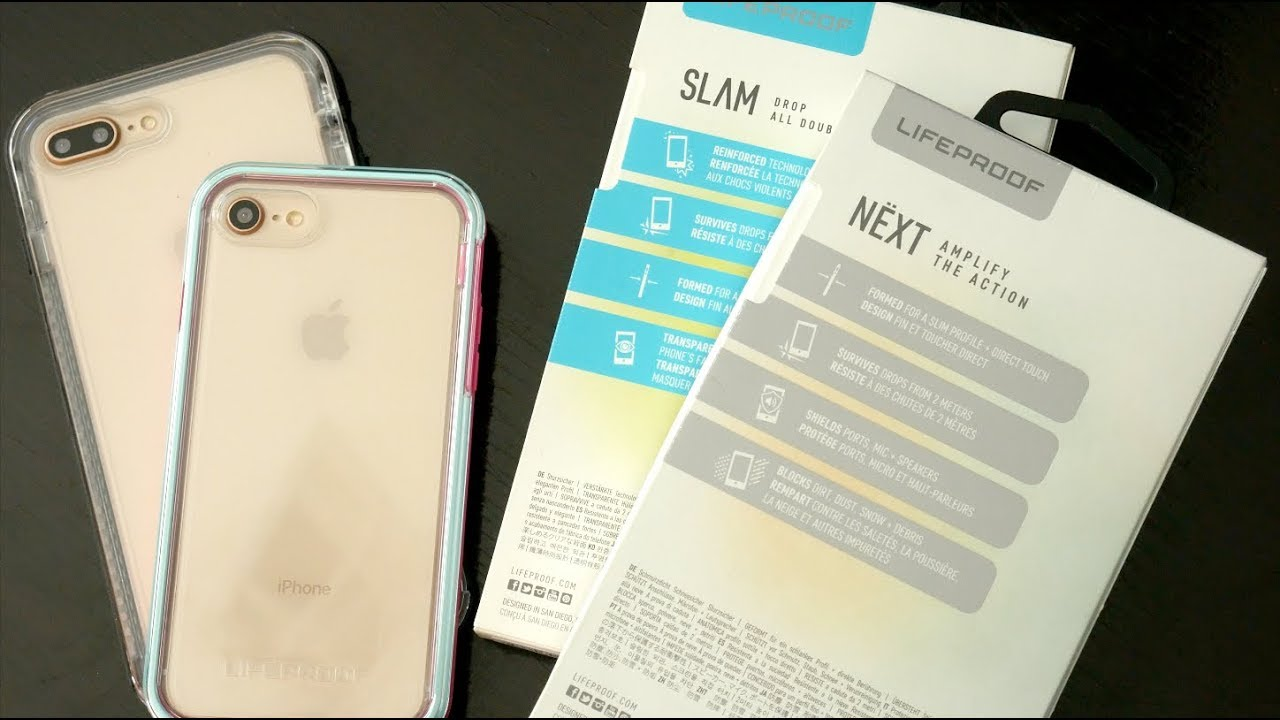 new product d606c 5771b LifeProof SLAM vs LifeProof NEXT: What's The Difference?
