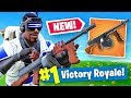 *NEW* DRUM GUN Gameplay In Fortnite Battle Royale!