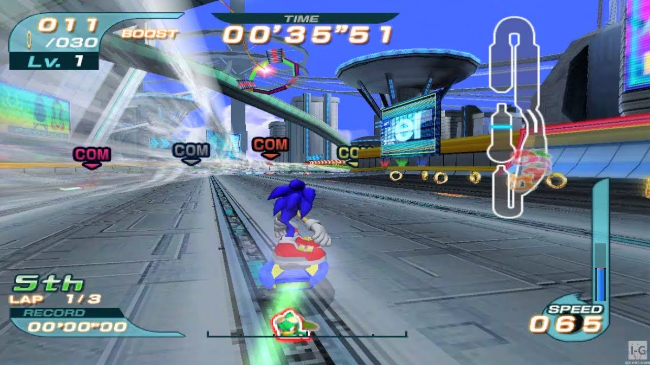 Sonic riders gamecube